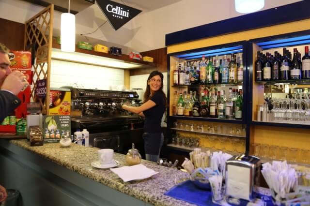 Italian barista